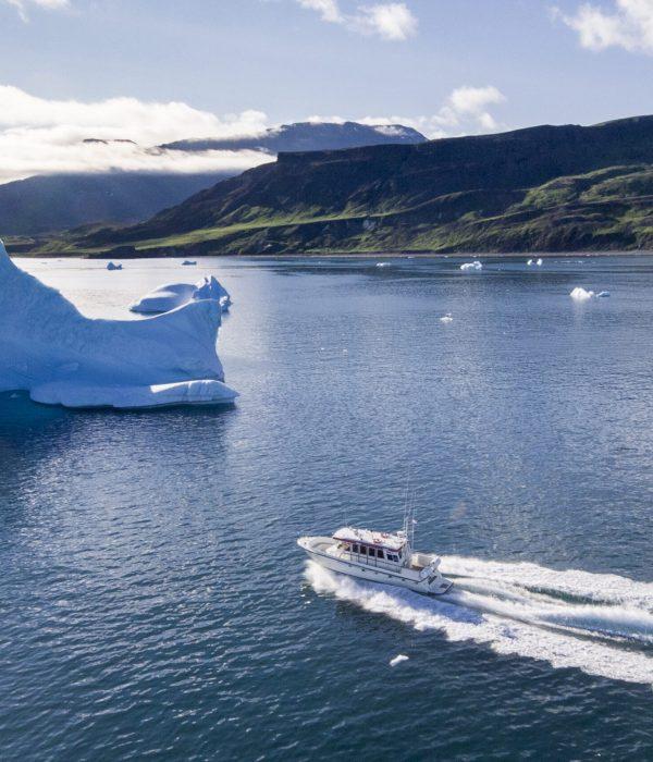 Disko Line boat